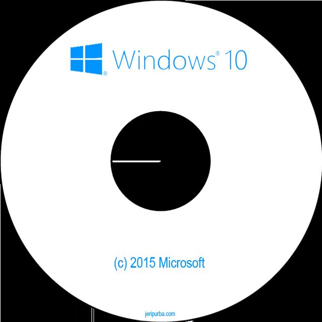 Cara Mudah Membuat Bootable DVD Windows 10.