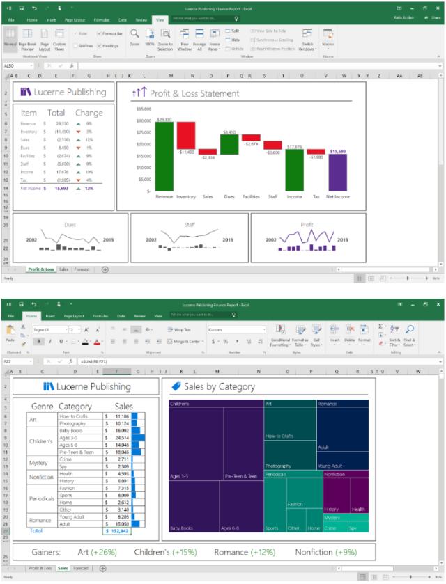 Chart Baru Di MS Excel 2016