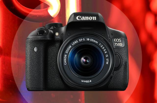 Harga Kamera Canon DSLR EOS 750D