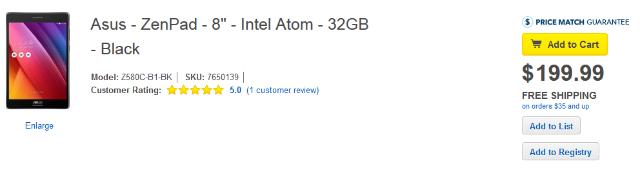 Harga Tablet Asus ZenPad S 8.0 32GB