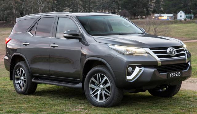Harga Toyota Fortuner 2016