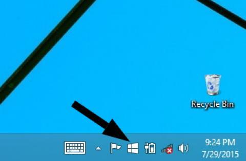 Ikon Pemberitahuan Upgrade Ke Windows 10