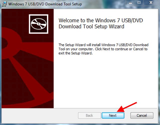 Langkah 1 Membuat Bootable USB Flashdisk Windows 10 Dengan Windows USB-DVD Download Tool