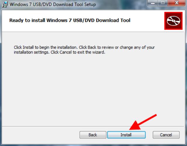 Langkah 2 Membuat Bootable USB Flashdisk Windows 10 Dengan Windows USB-DVD Download Tool