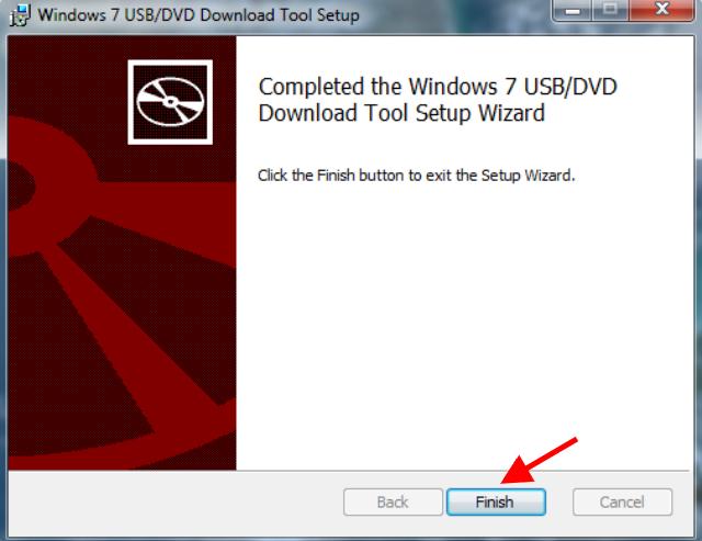 Langkah 4 Membuat Bootable USB Flashdisk Windows 10 Dengan Windows USB-DVD Download Tool