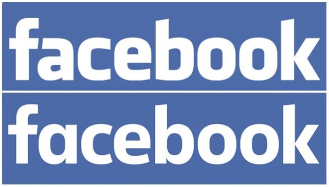 Logo lama dan Logo Baru Facebook.