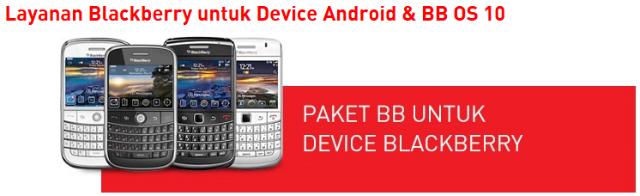 Paket BlackBerry Smartfren Untuk Smartphone Android