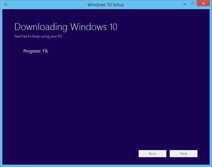 Proses Download Windows 10 Final