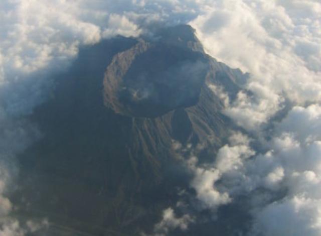 Status Gunung Raung Jawa Timur