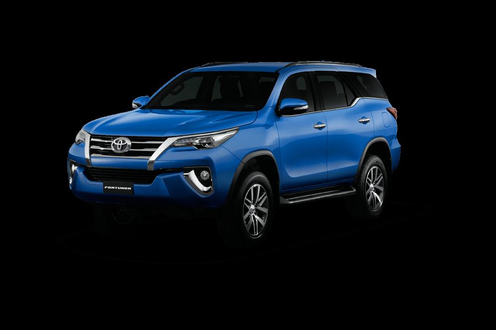 Toyota Fortuner Warna Biru
