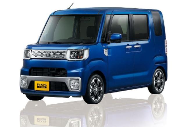 Toyota Pixis Mega Warna Biru
