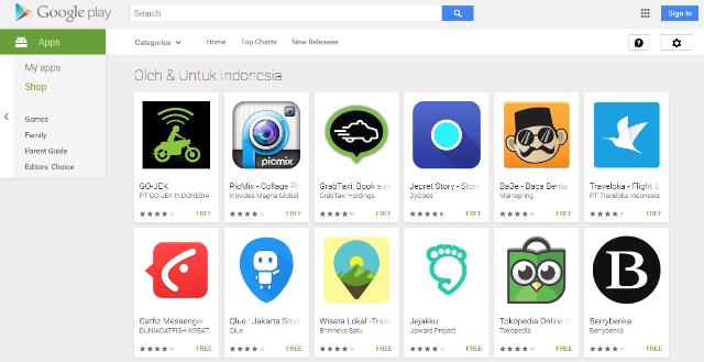 Download Aplikasi Android Terpopuler Buatan Indonesia