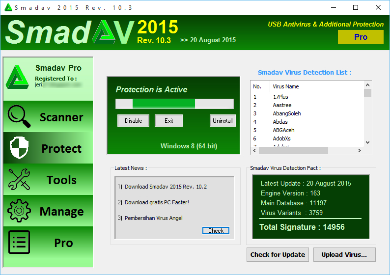 Download Smadav Antivirus Untuk Windows 10