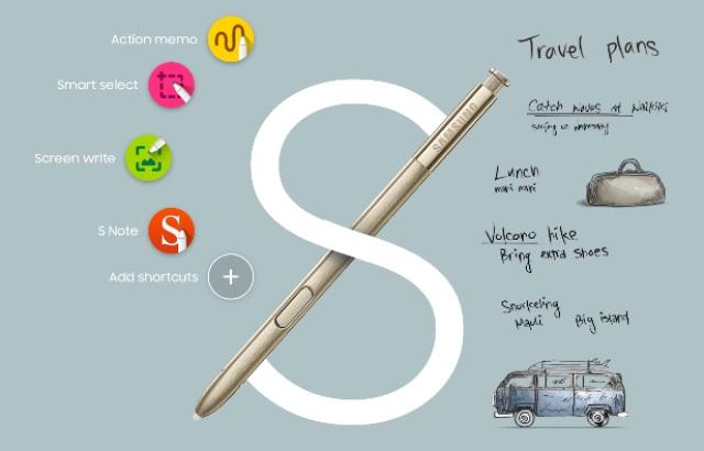 Fitur Baru S-Pen Samsung Galaxy Note 5