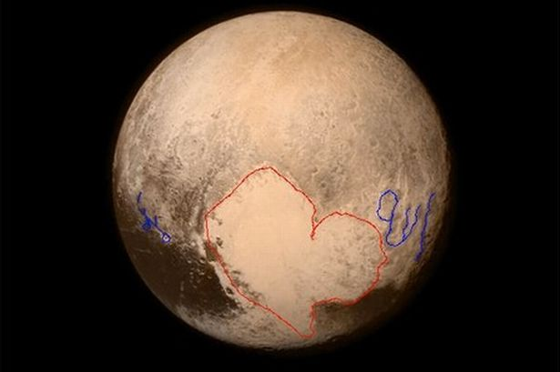 Foto Lafaz Allah Di Planet Pluto