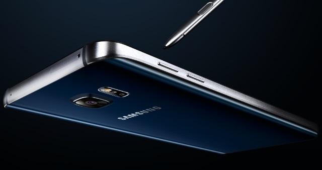 Gambar Samsung Galaxy Note 5 Warna Hitam (Black Sapphire)
