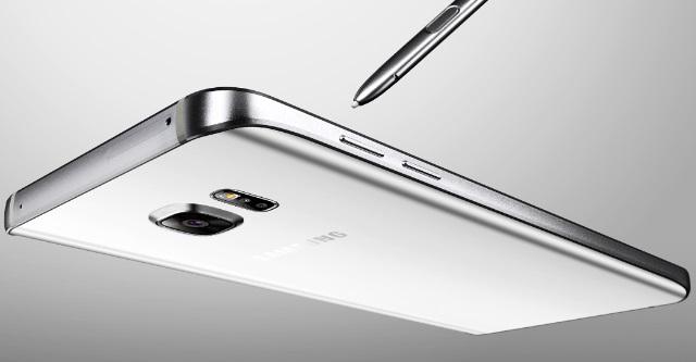 Gambar Samsung Galaxy Note 5 Warna Putih (White Pearl)