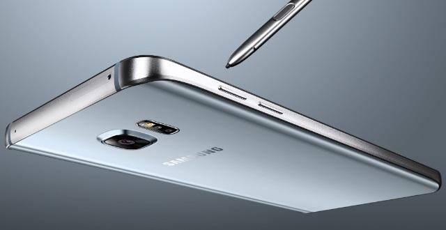 Gambar Samsung Galaxy Note 5 Warna Silver (Silver Titanium)