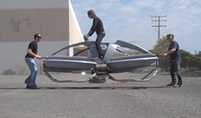 HoverBike Kendaraan Terbang Masa Depan.