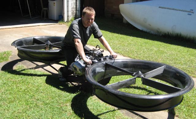 Hoverbike Kendaraan Udara Pribadi Masa Depan