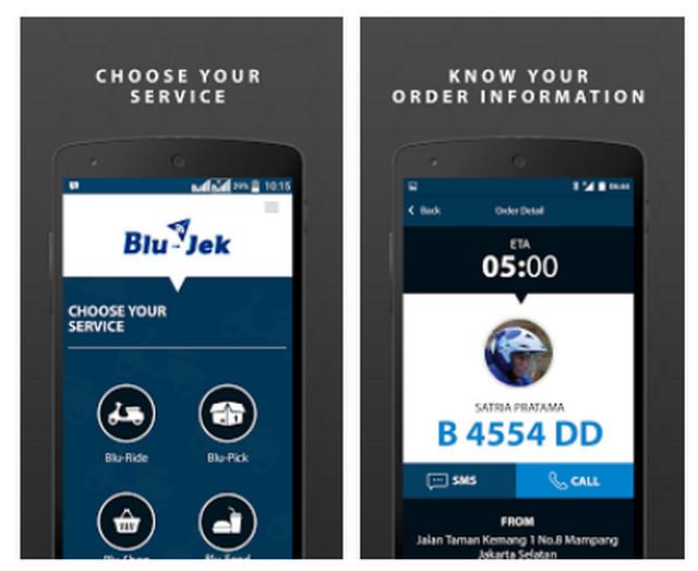 Download Aplikasi Blu-Jek Untuk Android