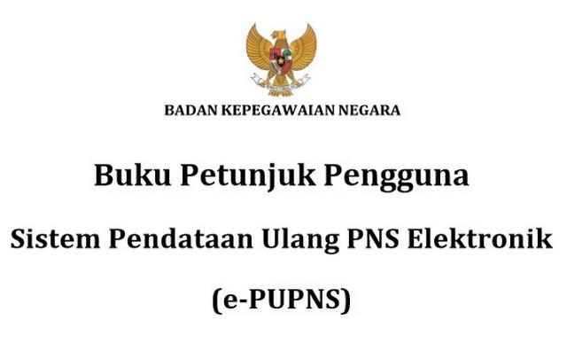 Download Buku Petunjuk Pengisian PUPNS 2015 BKN