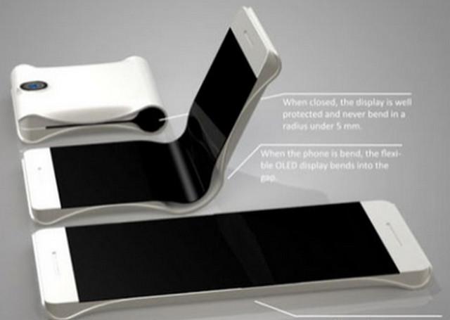 Gambar Layar Lipat Smartphone Samsung