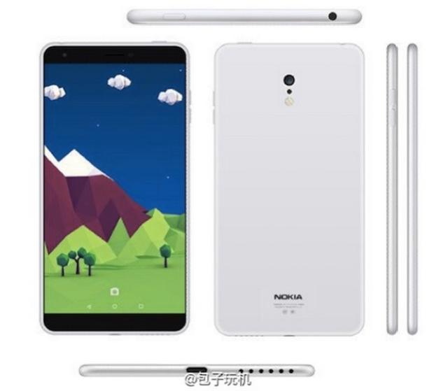 Gambar Spesifikasi Nokia C1.