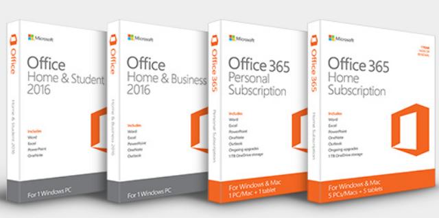 Harga Lisensi Microsoft Office 2016