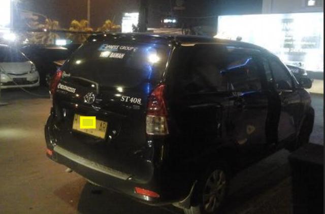 Taksi Avanza di Jawa Tengah