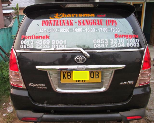 Taksi Kijang Innova di Pontianak