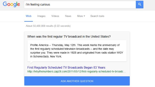 Tayangan TV Pertama Di Amerika