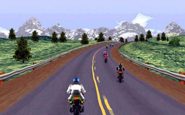 Fitur Game Road Rash