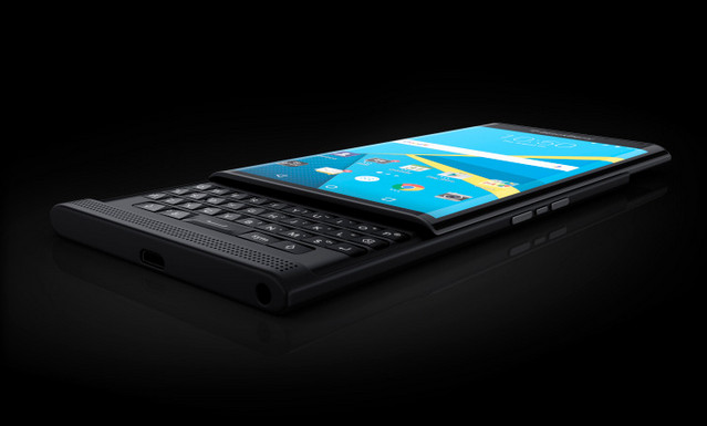 Gambar BlackBerry Priv Android