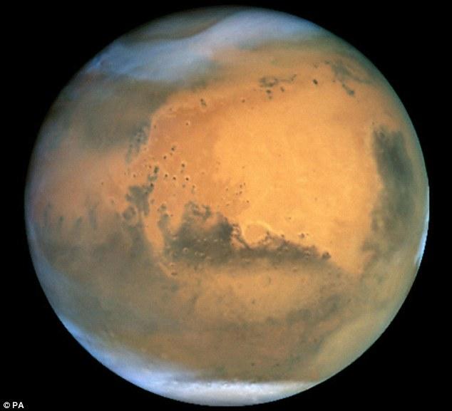 Larangan Mendiami Planet Mars