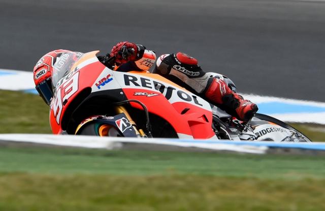 Marc Marquez Tercepat Di FP4 MotoGP Australia