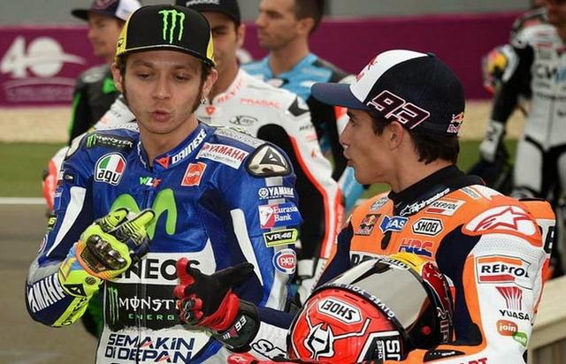 Perang Dingin Rossi Marquez Jelang MotoGP Malaysia 2015