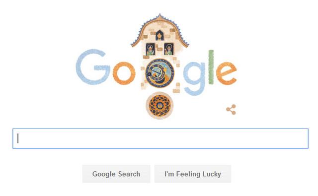 Ulang Tahun Jam Astronomi Prahara Ke 605 Google Doodle
