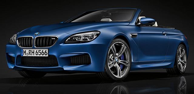 Gambar Mobil BMW M6 Convertible