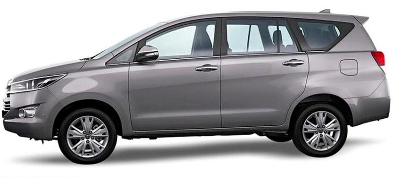 Gambar Toyota Kijang Innova 2016 Tampak Samping Kiri