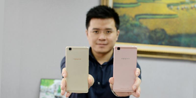 OPPO R7s Warna Pink, Smartphone Untuk Cewek
