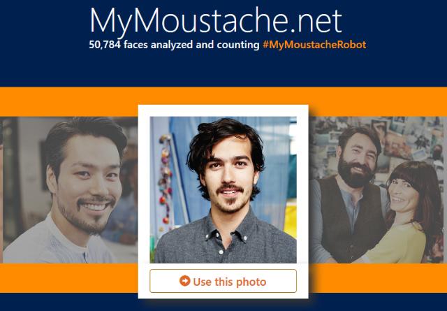 mymoustache.net, situs untuk mengukur panjang kumis dari foto