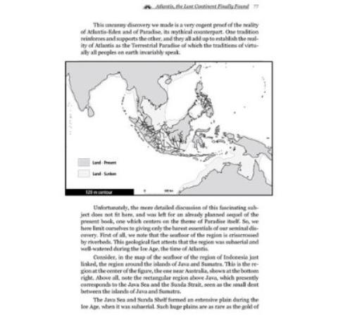 Atlantis Digambar Teletak Di Indonesia