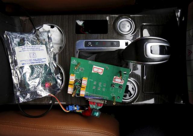 Bagian dari perangkat sistem mobil yang dikendalikan oleh otak manusia
