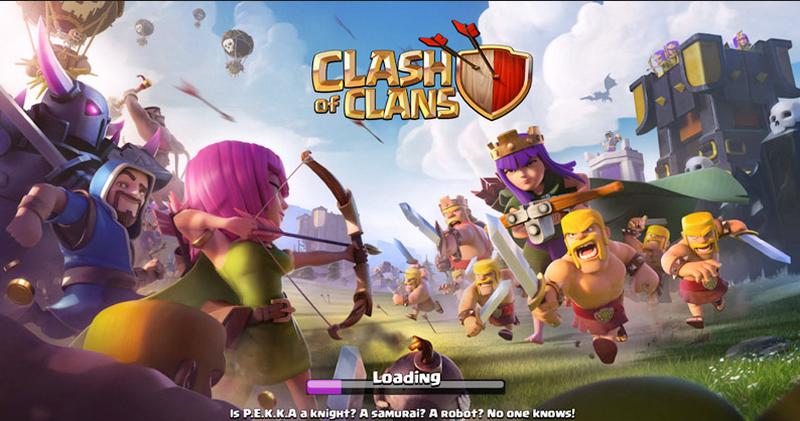 Game CoC untuk Android versi terbaru