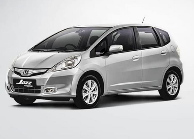 Gambar Eksterior Honda Jazz Hybrid Terbaru