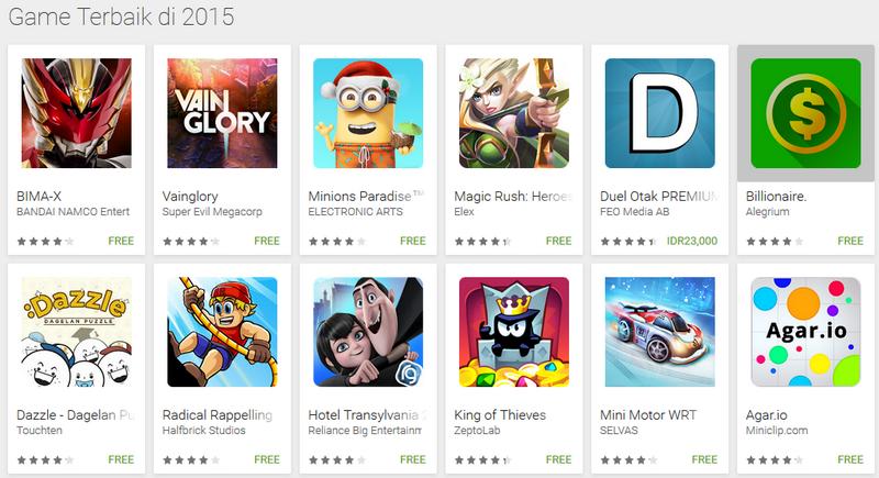 Games Android Terbaik Sepanjang 2015