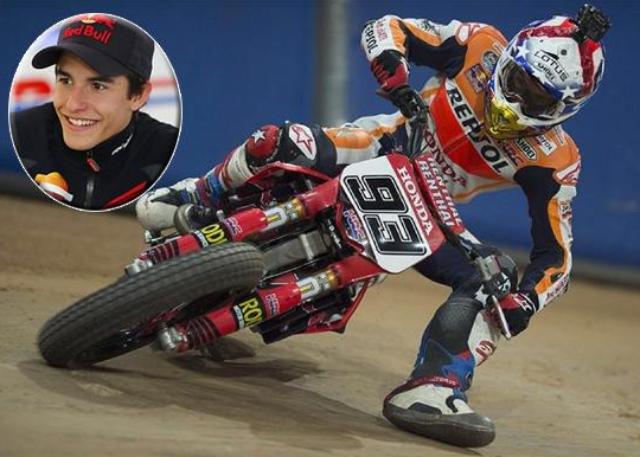 Marc Marquez Beraksi Dengan Motokros