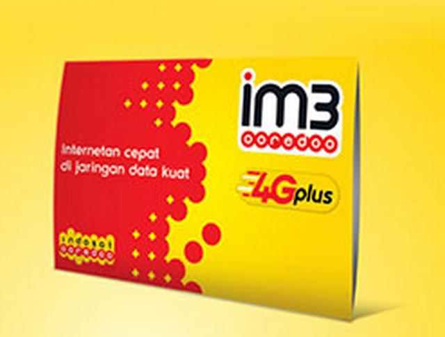 Paket Internet Indosat Ooredoo 4G Plus.
