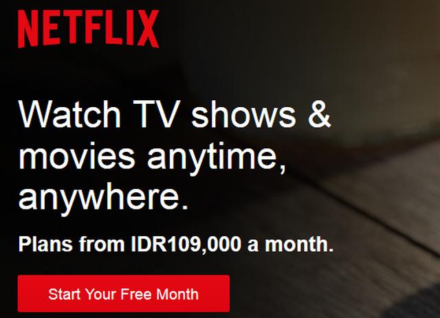 Cara Berlangganan Netflix.